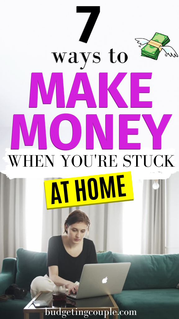 7 Ways to Make Money From Home- Easy Side Hustle I