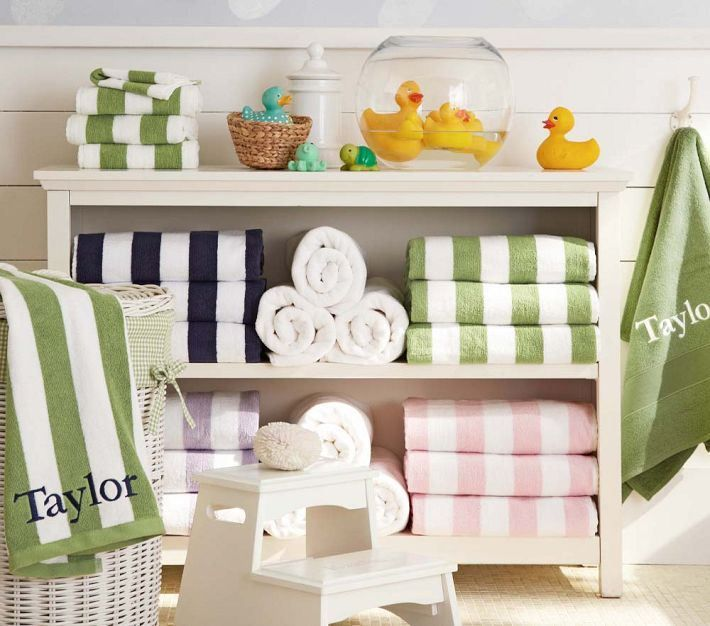 Childrens Bathroom Design Ideas Singing In The Shower Speakman - Pottery barn bathroom storage for bathroom decor ideas