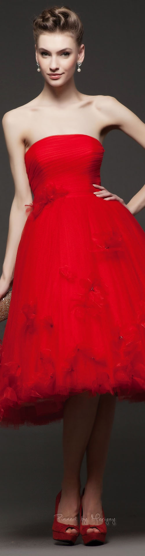 Rosa clará red pinterest rosa clara red fashion and cherry red