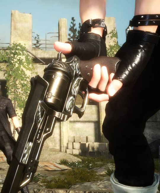 Prompto Revolver Gun-Final Fantasy XV Cosplay
