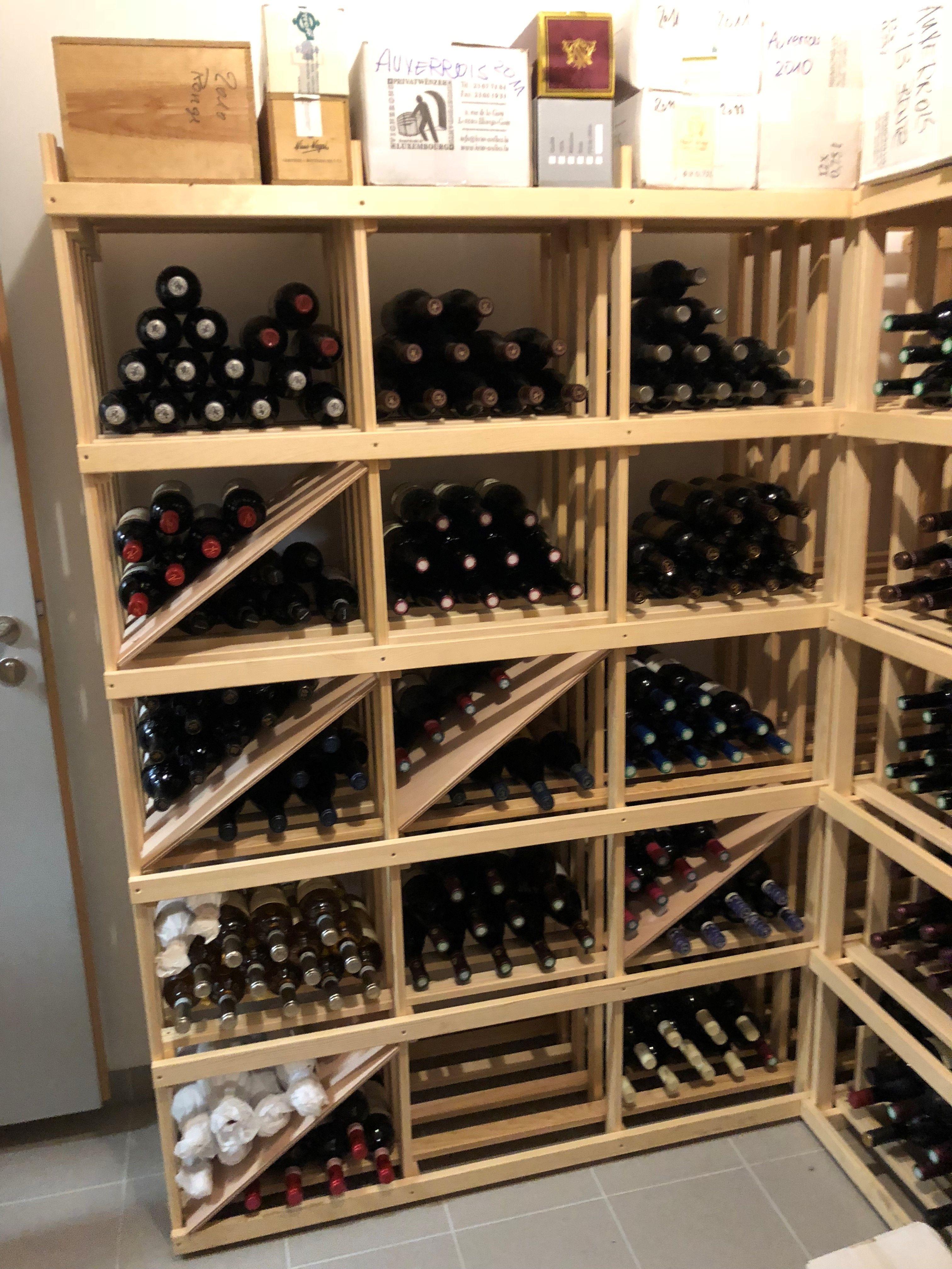 Meuble à vin : 700 en 2020 | Casier a bouteille, Rangement vin et Range bouteille