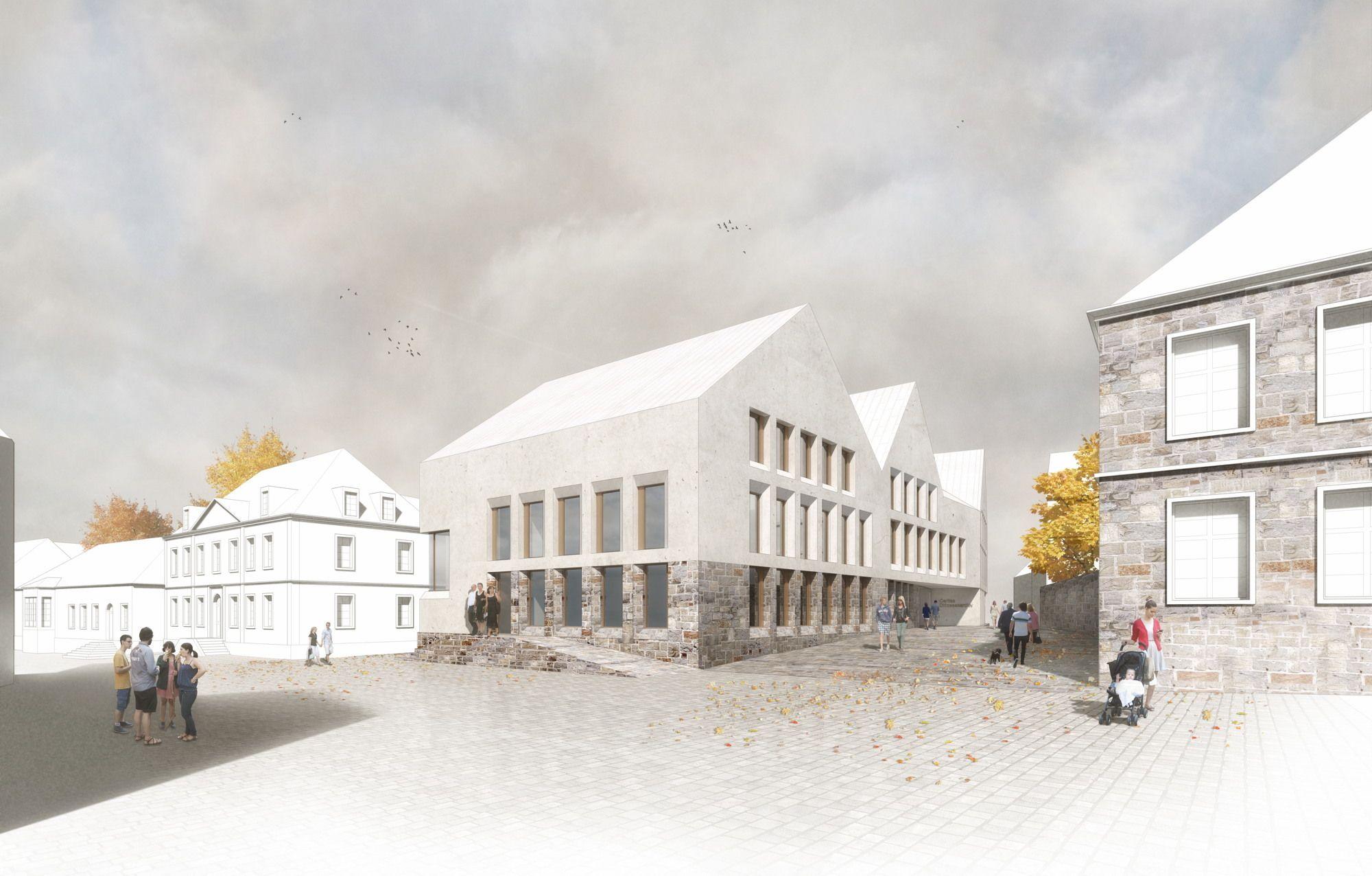 Architektur Paderborn domblick staab architekten gewinnen in paderborn architektur