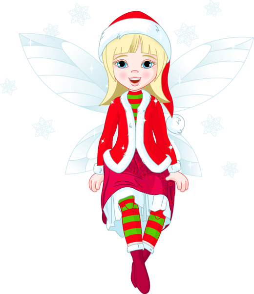 Transparent Christmas Elf PNG Clipart