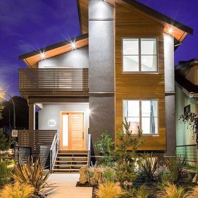 Dise o y planos de casas de dos pisos con ideas para for Disenos de casas de dos pisos pequenas