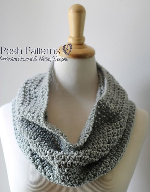 Ravelry Easy Cowl Pattern By Posh Patterns Needle And Thread