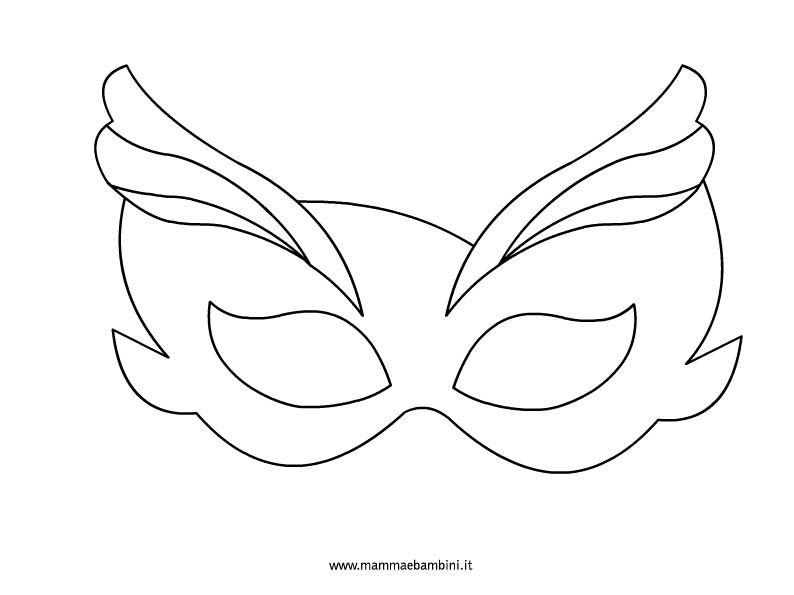 Maschera Veneziana Farsang Maschere Carnevale Scuola E Carnevale