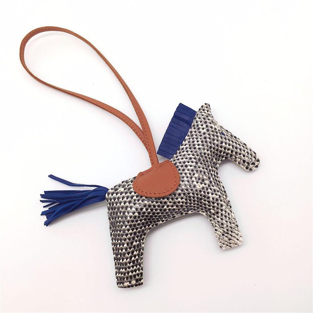 850d84a1cb13 Handmade ombre lizard skin Rodeo bag charm perfect for Hermes Birkin Kelly   Handmade