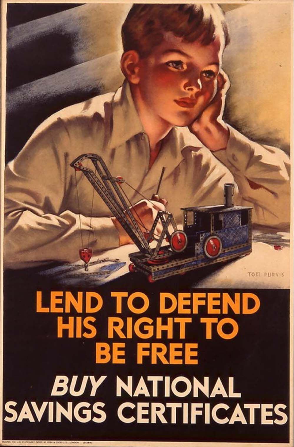 Lend to defend his right to be free wwii national savings lend to defend his right to be free wwii national savings certificate poster 1betcityfo Choice Image