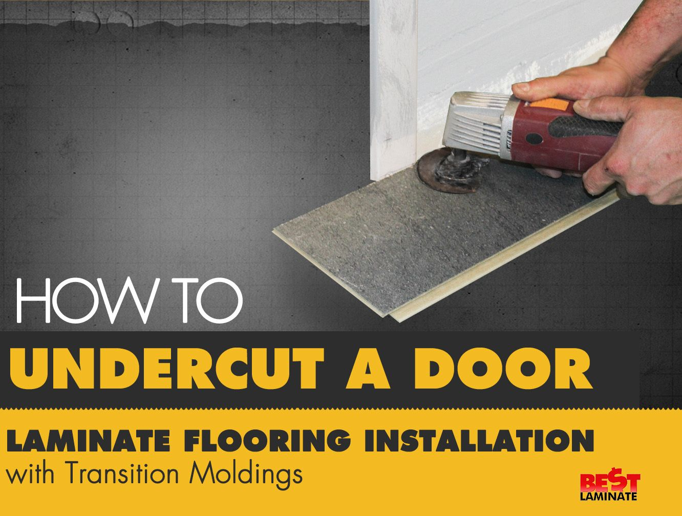 We walk you through a stepbystep guide on how to undercut a door