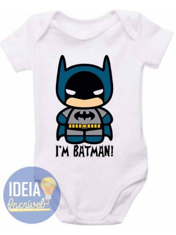 0c005fec1b253 Body Infantil - I m Batman