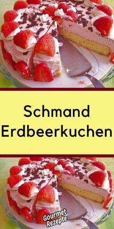 Schmand – Erdbeerkuchen - Gourmet Rezepte