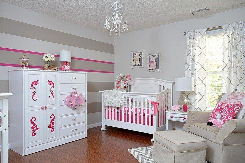 Chambre bébé fille: 50 idées de déco et aménagement ...