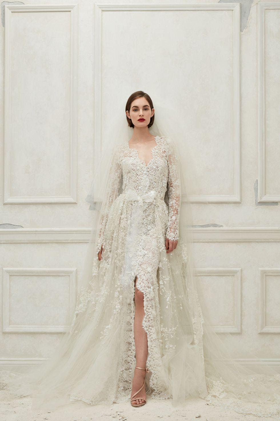 ... Like a Royal–These Are The Best Long Sleeve Wedding Dresses To Shop Now.  Saving On Wedding Dresses. https   www.harpersbazaar.com wedding bridal-fashion  ... 705fe0126