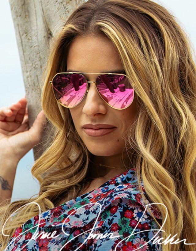 97d7088e9e7 Jessie James Decker aviator sunglasses DIFF