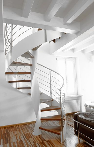 Best Helical Spiral Staircase By Sandrini Scale Interior 400 x 300
