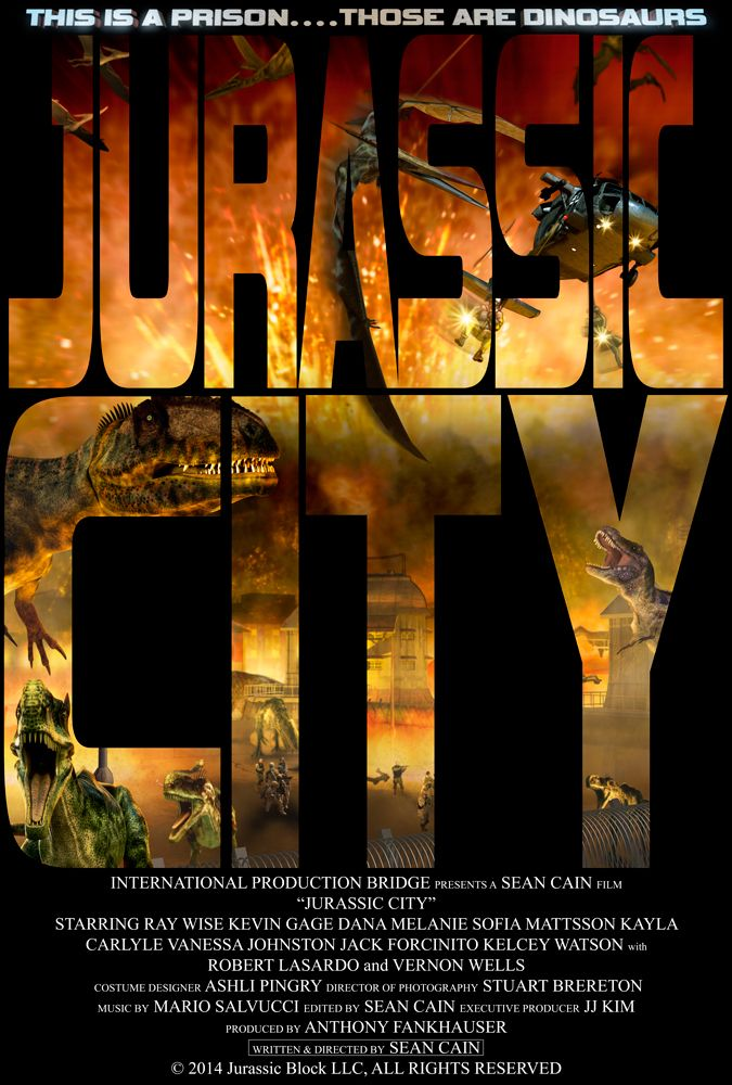This Is A Prison Those Are Dinosaurs Jurassic City Poster Jurassic Block Llc Boot To The Head Studios Hd Movies Hd Movies Online Film Movie
