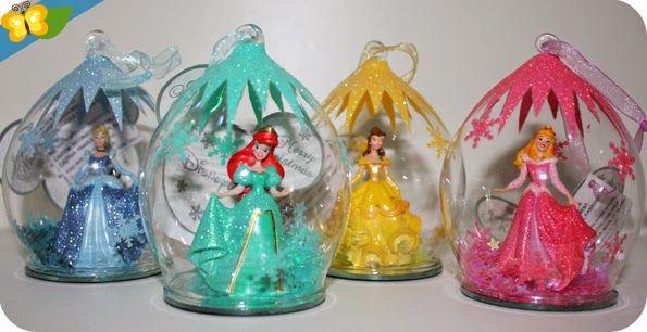 Nos boules de no l princesses disney loisir cr atif pinterest princes disney boules de - Boule de noel disney ...