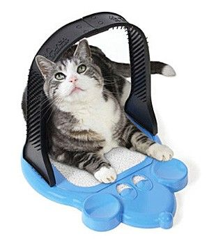 Arch Groomer Deluxe for Cats  Cats can scratch there own backs and groom themselves with the arch groomer!