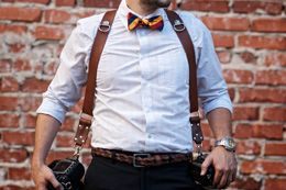 """This harness derives its style from that indelibly cool detective in our collective memories with that boss leather shoulder harness holding his peacemaker. HoldFast modified the """"bossness"""" to hold the modern shooters tools. Drawing from those classic themes, HoldFast designed a highly fashionable, highly durable, as well as highly comfortable harness for two or three cameras."""