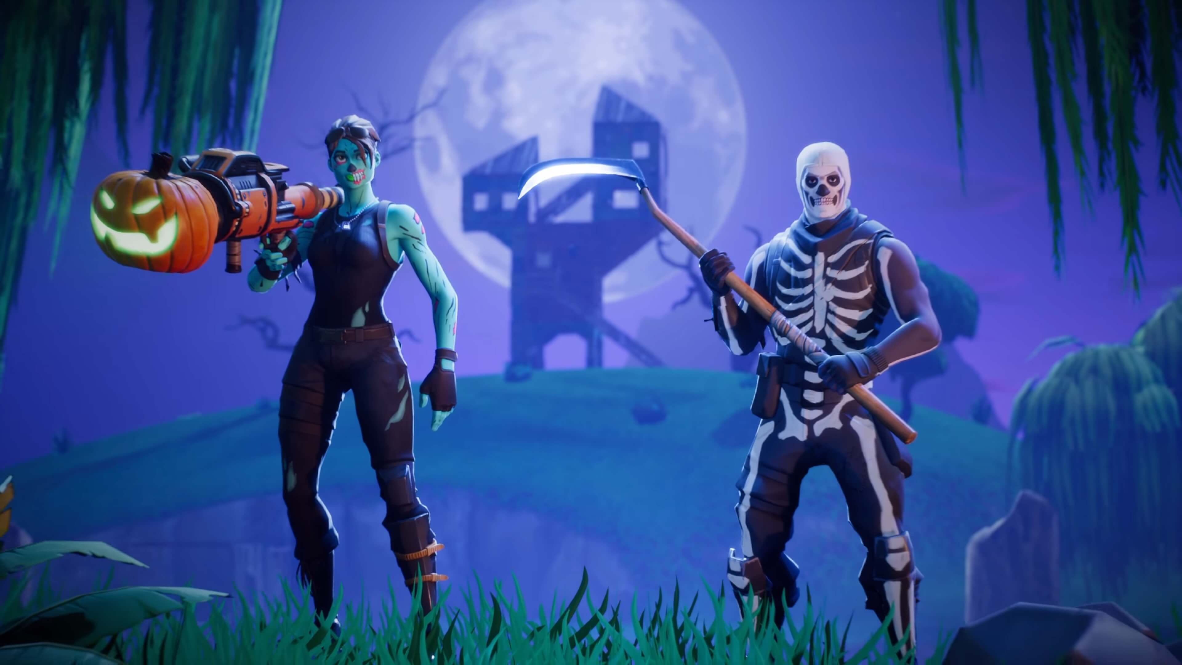 Pin By Wallpaperplex On Fortnite Skull Trooper Wallpapers Games