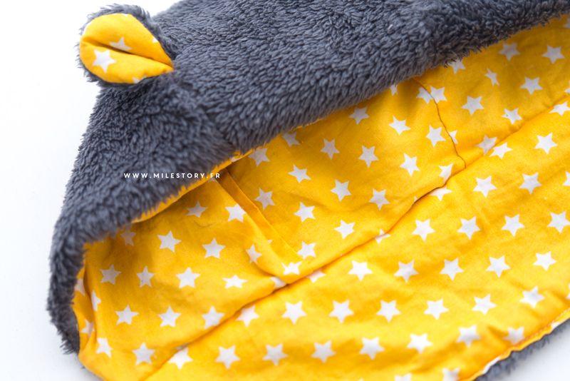 DIY couture   Tuto Bonnet ourson bébé   enfant   Couture   DIY ... 62a8e9b6408