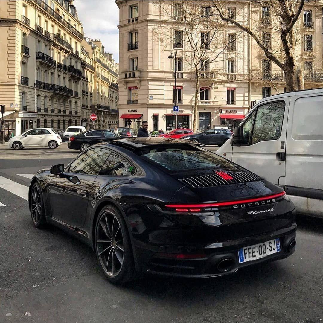 Blacked Out 992 Porsche Fast Sports Cars Porsche 911 Gts