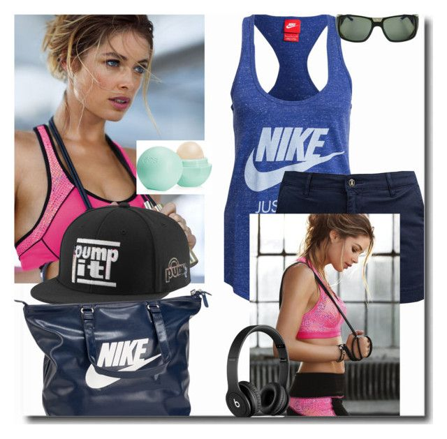 """""""you´ll feel good if you have positive attitude about your body"""" by larica-527 ❤ liked on Polyvore featuring NIKE, Eos, Barbour, Reebok, Cartier and Beats by Dr. Dre"""
