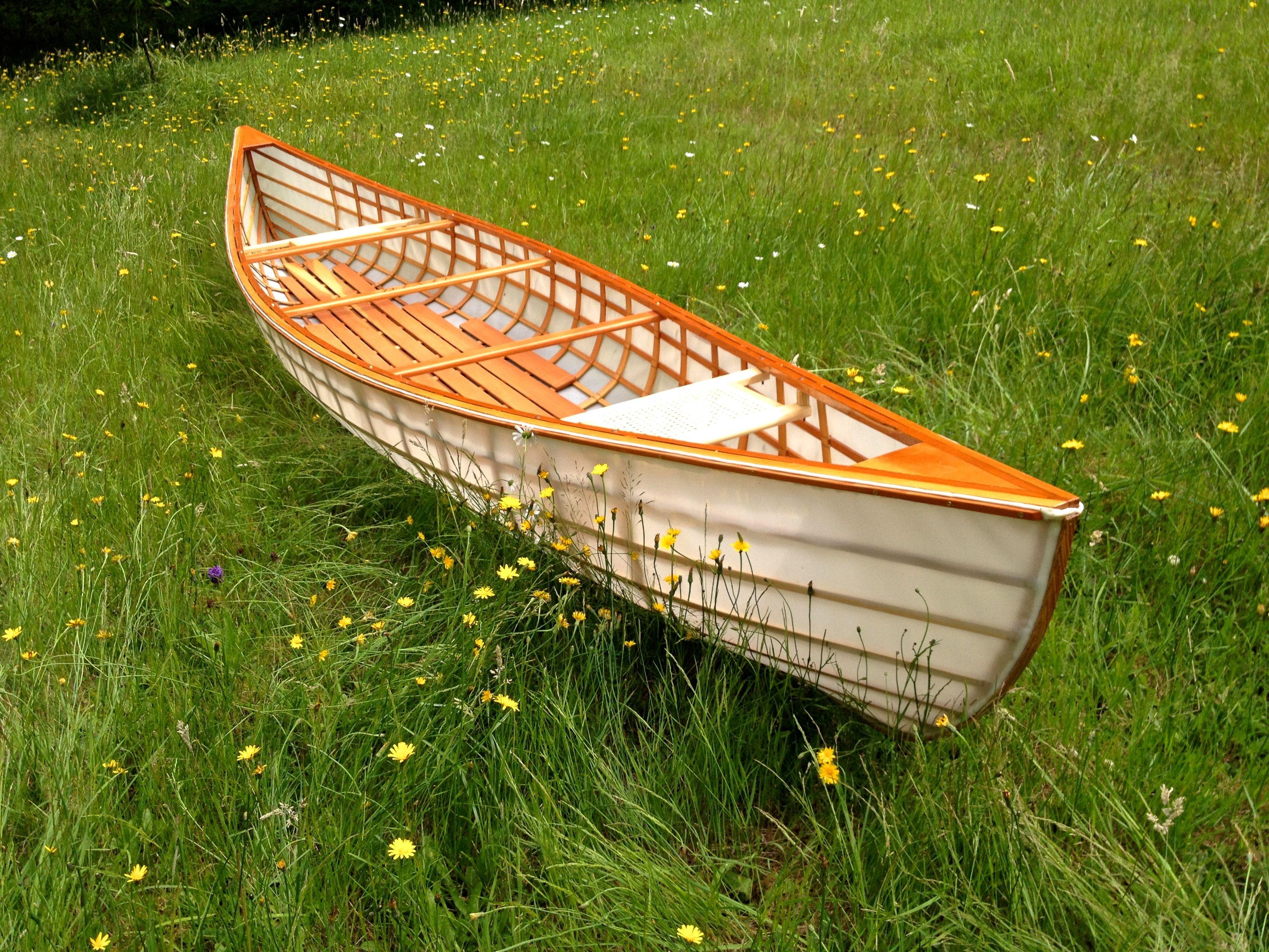 Skin on frame kayak plans - My Second Skin On Frame Canoe