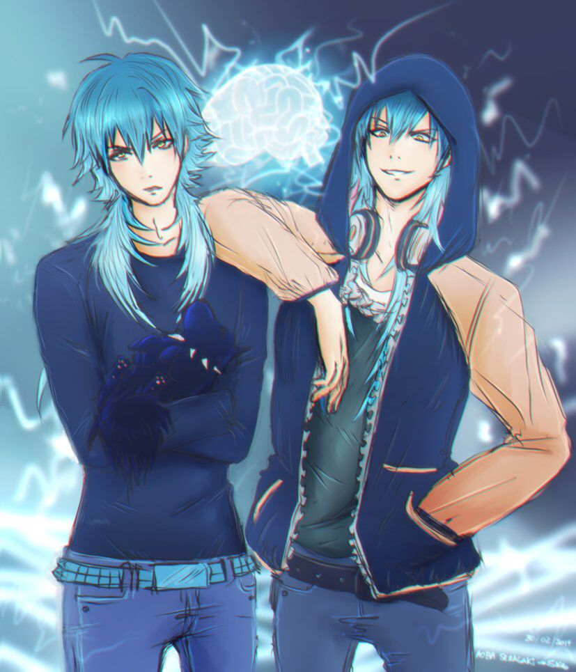 Pin on Dmmd Aoba x Sly Blue
