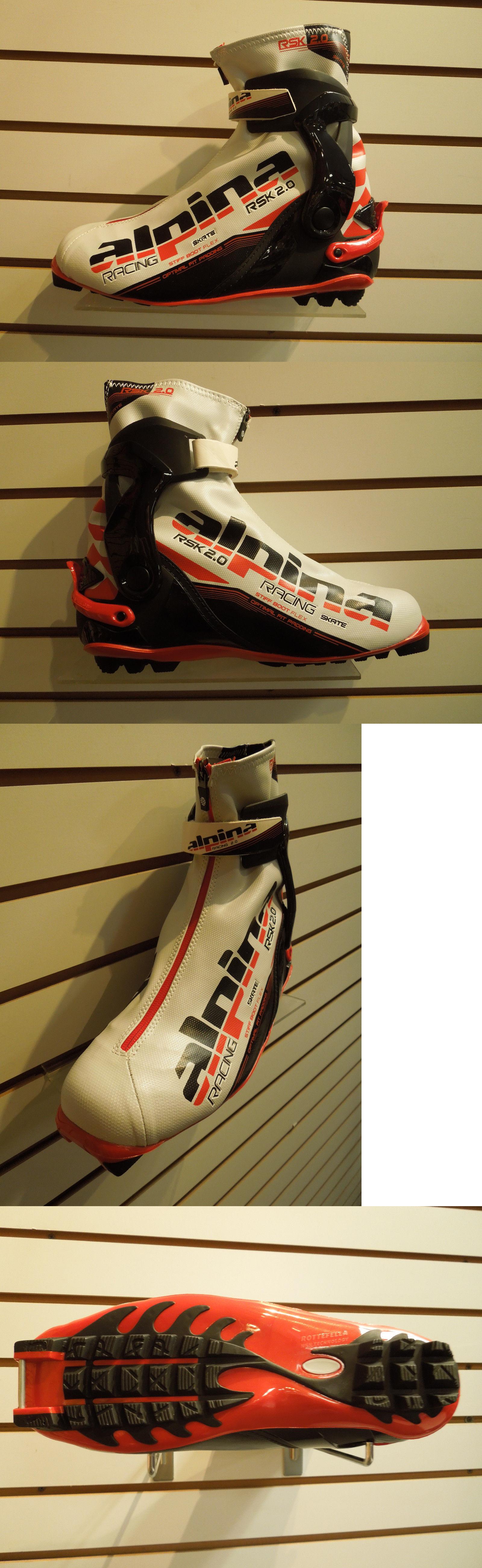 Boots Alpina Rsk Cross Country Ski Boots Size Skate - Alpina skate ski boots