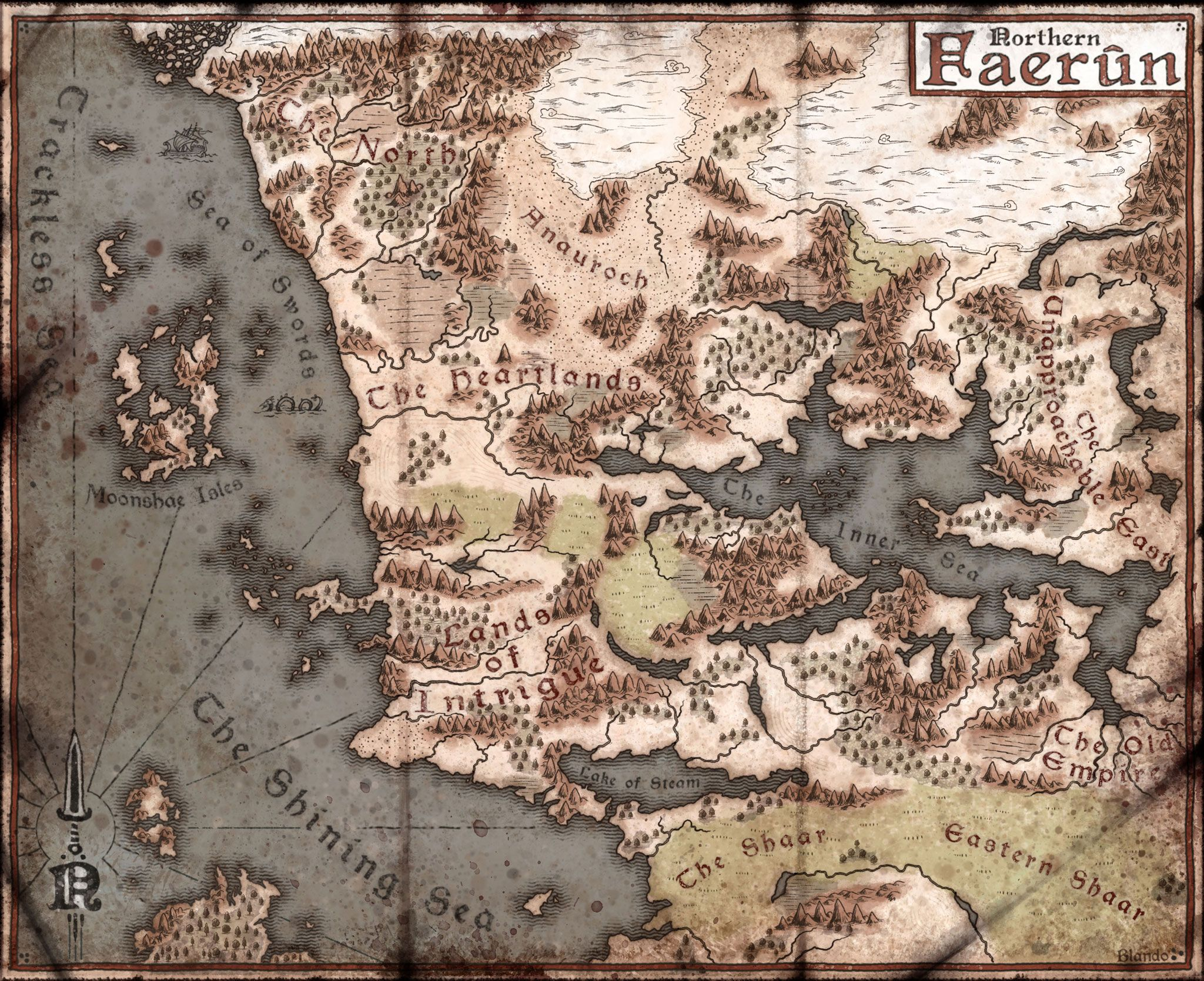 D&D 5th Edition Map of 5e Forgotten Realms? - Page 2 | Maps in 2019