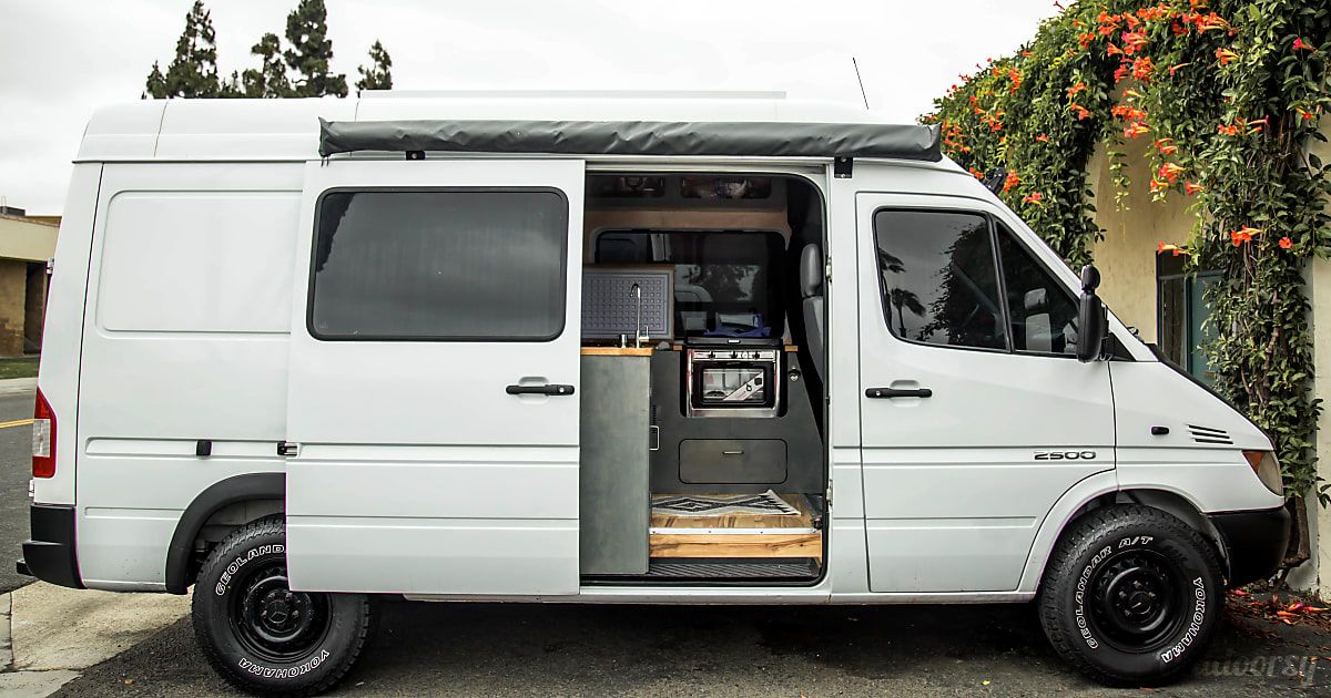 See 13 Photos Of This 2004 Dodge Sprinter Motor Home Camper Van In