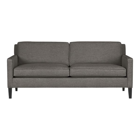 Crate And Barrel Vaughn Apartment Sofa Smaller Couch Option Maybe We Ll Afford Some Day Apartment Sofa Clean Sofa Sofa
