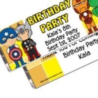 Fun Avenger Party Favors