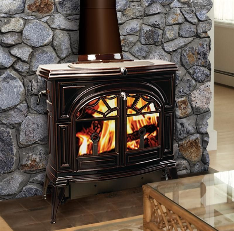 Heating Stoves 84184 Vermont Castings Wood Stove Defiant Flexburn Free Standing Cast Iron Brown B Wood Stove Vermont Castings Wood Stove Wood Burning Stove