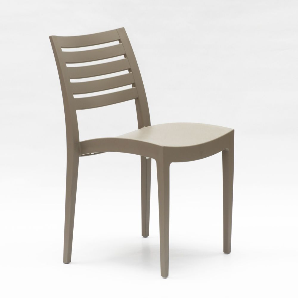 Grand Soleil Sedie Giardino.Sedia Impilabile In Polipropilene Per Giardino E Bar Grand