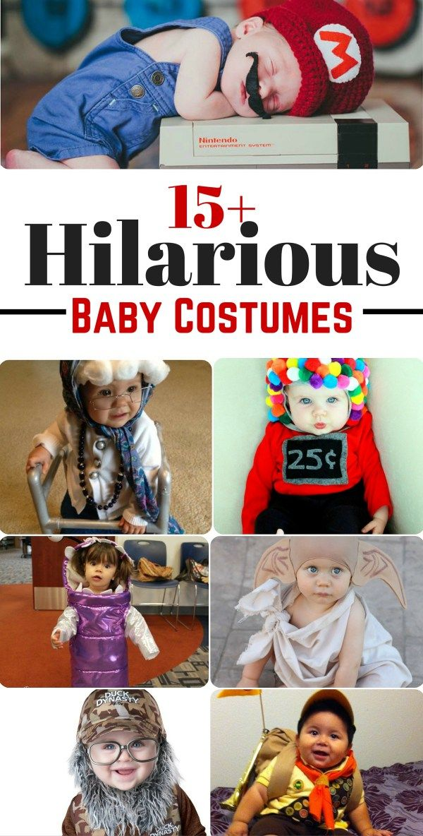 15 Hilarious Baby Costumes Every Parent Should Consider This - diy infant halloween costume ideas