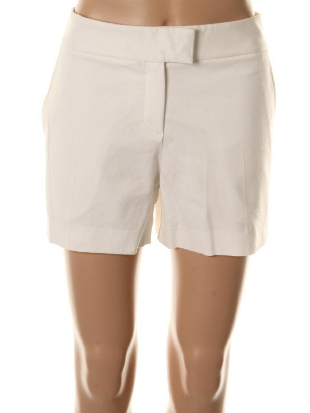 a2dbc350be Theory Womens Lynie Stretch Flat Front Dress Shorts#Lynie, #Stretch, #Theory
