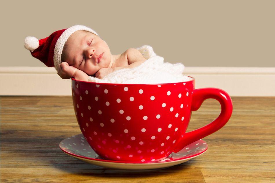 teacup baby....Christmas idea? Hot chocolate baby