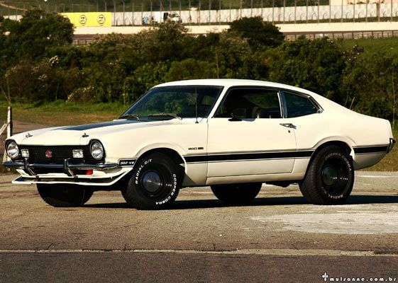 Ford Maverick Gt 302 V8 By Marcus Vinicius Rezende Ford Maverick
