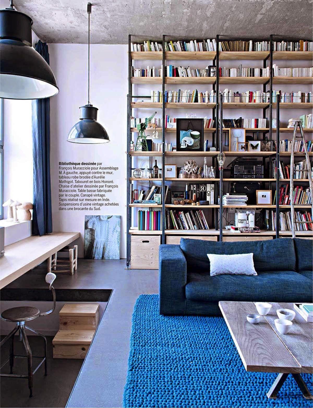 Um Loft Perfeito E Quentinho Library Paradise Pinterest Lofts