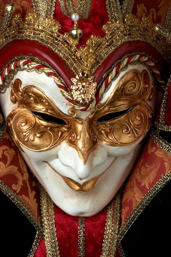scegli autentico elegante nello stile bambino Joker Damascato a 13 punte | vendita maschere veneziane ...