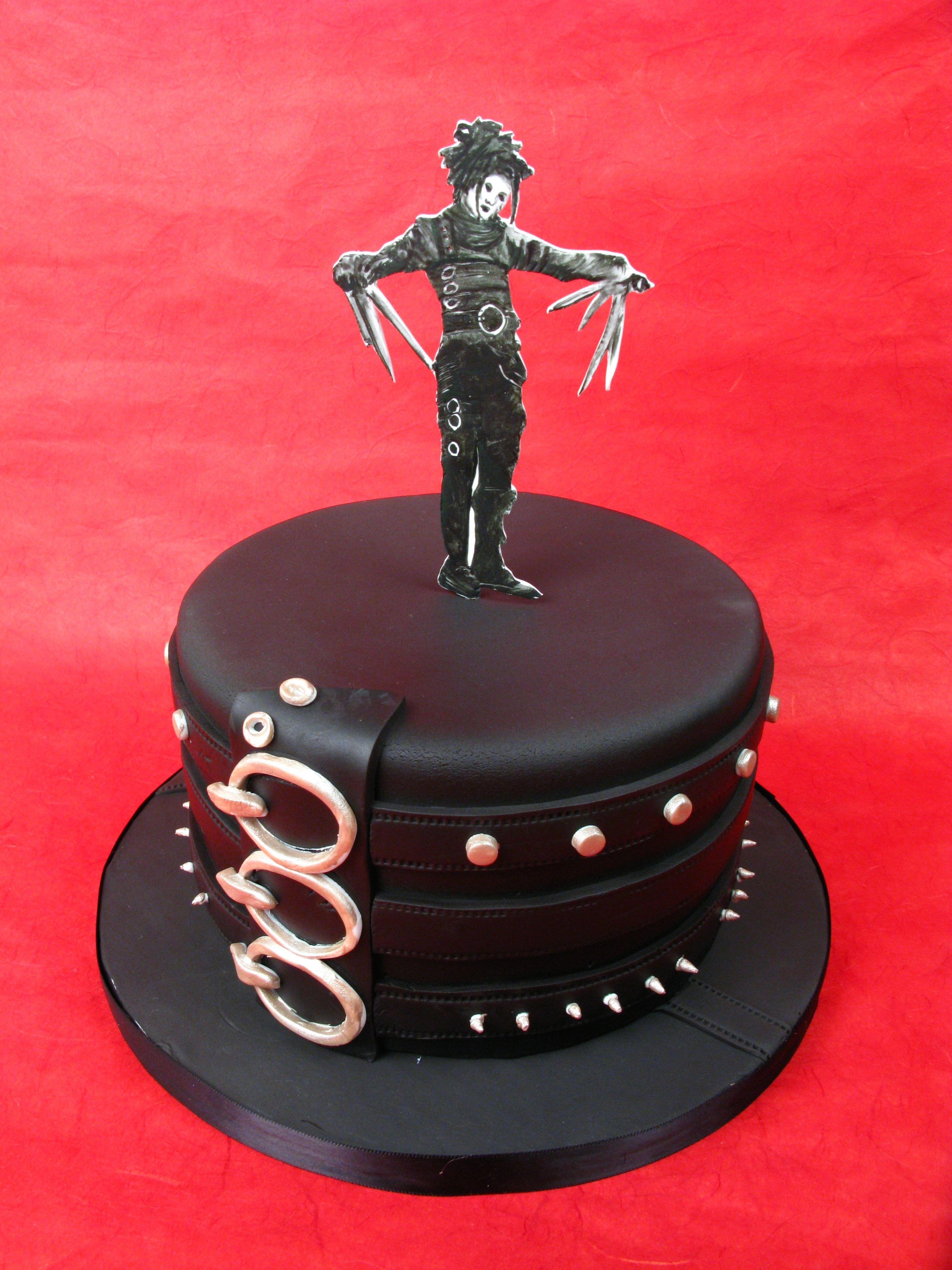 Edward Scissorhands Tim Burton Birthday Cakes