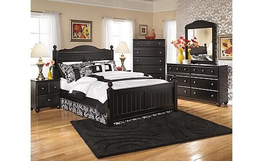 Jaidyn Poster Bedroom Set - Ashley Furniture | The Shead Residence ...