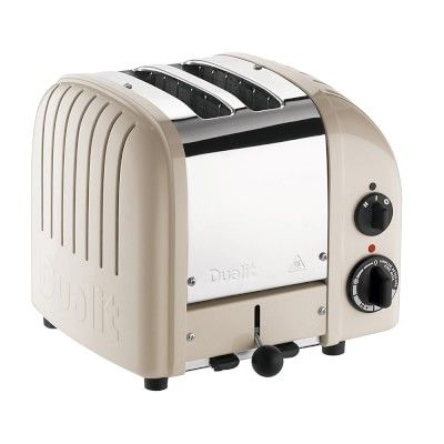 Dualit New Generation Classic 2-Slice Toaster, Clay