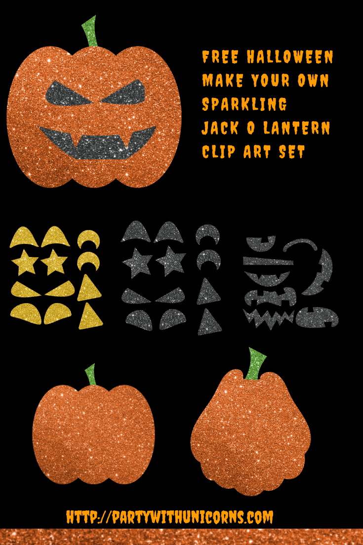 Jack O'Lantern Clip Art - Friday Freebie #clipartfreebies Jack O'Lantern Clip Art - Friday Freebie #clipartfreebies