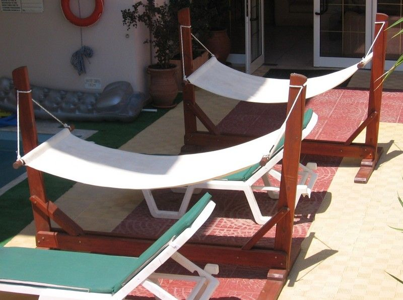 garden hammock with stand plan