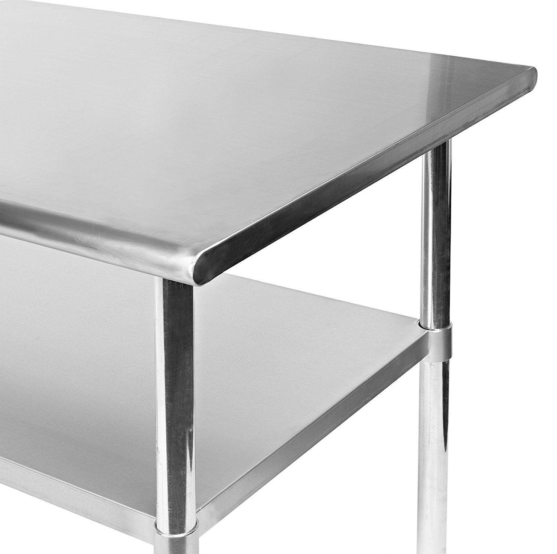 Kitchen Prep Table Stainless Steel - Cheap Kitchen island Ideas ...