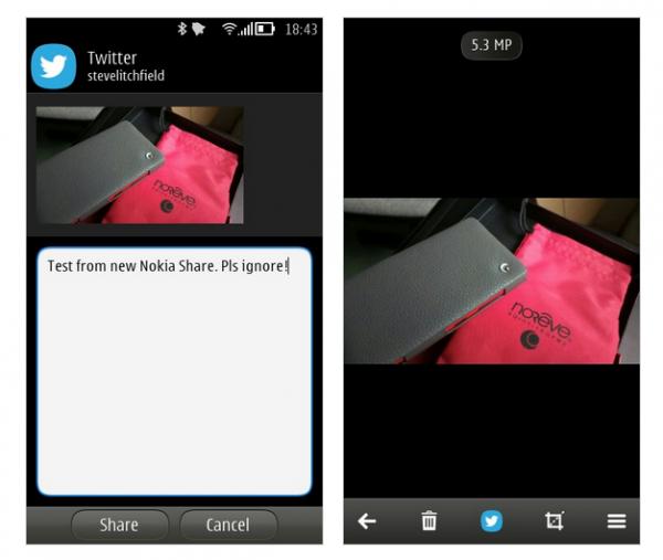 I possessori di un Nokia con Belle FP2 stanno ricevendo in questi giorni un minor update che porta miglioramenti alla condivisione di contenuti multimediali.