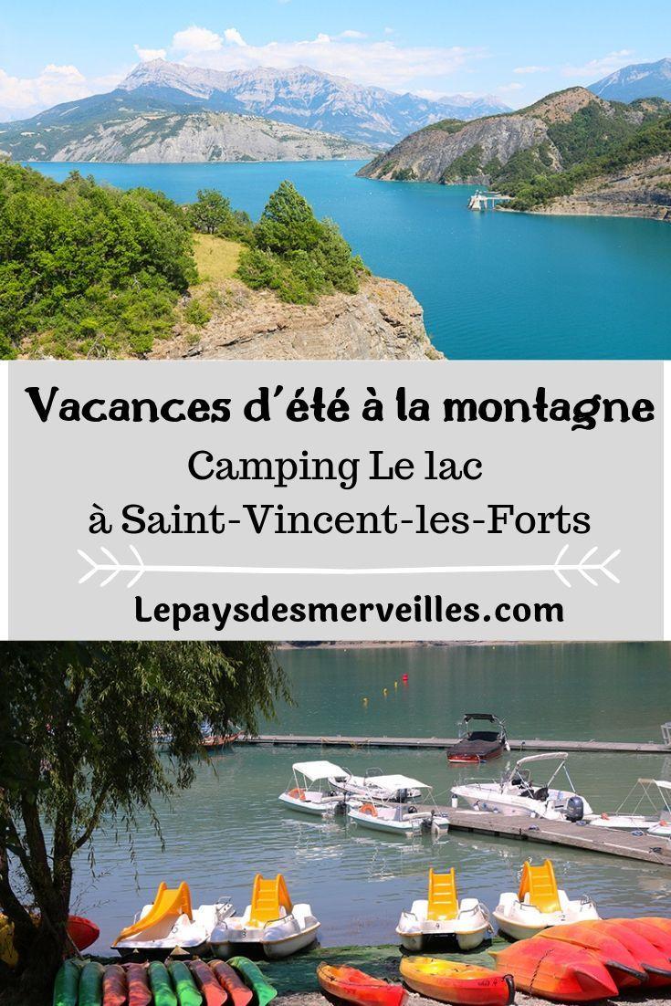 Vacances en famille au camping du lac de serre pon on - Camping lac serre poncon piscine ...